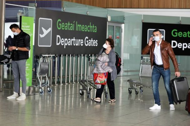 """Ireland\'s statisticians call it an \""""unprecedented collapse in overseas travel to and from Ireland.\"""""""