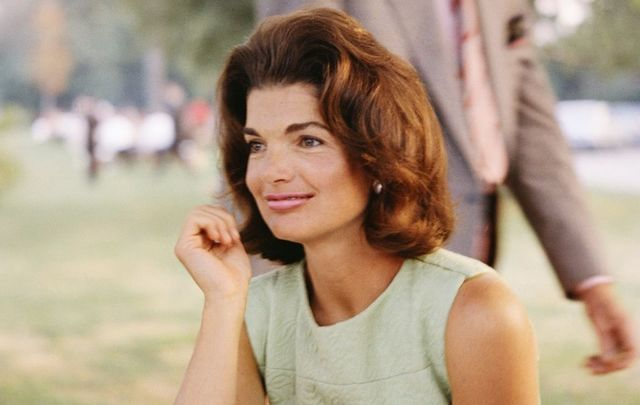 Former First Lady Jacqueline Kennedy.