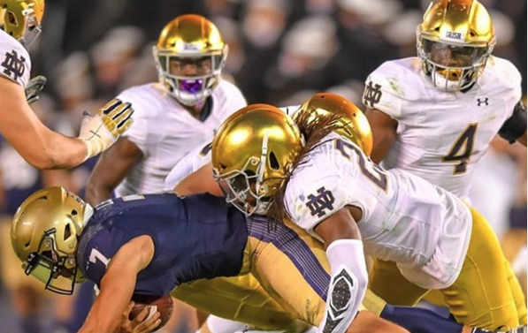 The 2020 Aer Lingus College Football Classic: Navy vs Notre Dame has been moved to Annapolis, MD.