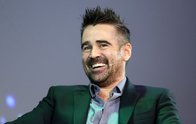 Dublin star living in LA, Colin Farrell.