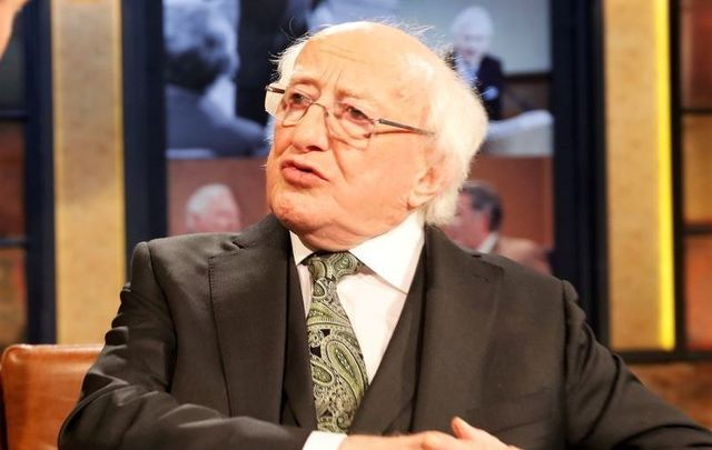 President of Ireland Michael D. Higgins, pictured here in 2019, has issued a statement about the antii-racism demonstrations.