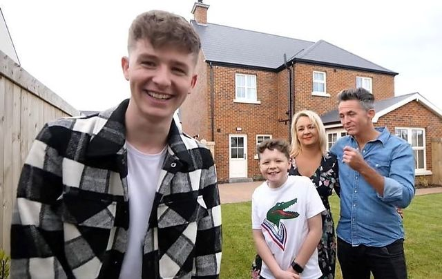 Adam Beales gave his parents and brother the surprise of their life after he purchased them their dream home in Derry.