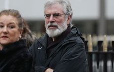 """Gerry Adams urges Irish Americans to """"get active"""" on a United Ireland"""