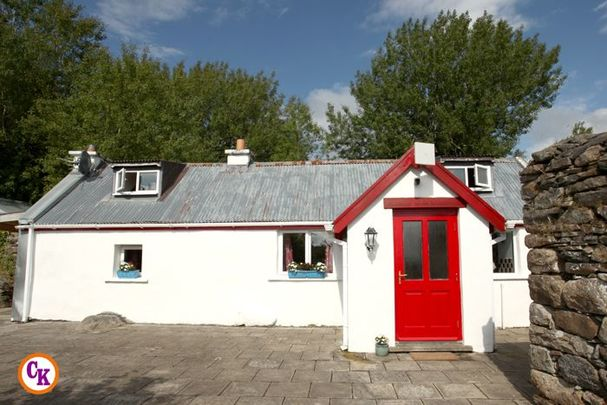 Enter to win a dream three-bed cottage in Askillaun, near Foxford, County Mayo.