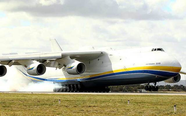 The Antonov An-225 Mriya, the world\'s largest aircraft.