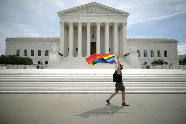 Happy Pride! The US Supreme Court has ruled against discrimination of LGBT persons.