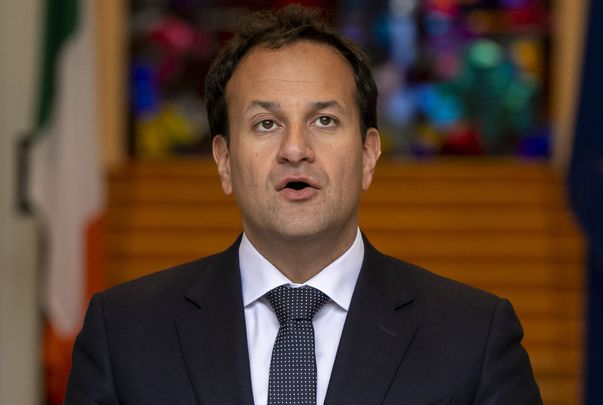 The outgoing Irish Taoiseach (Prime Minister) Leo Varadkar.