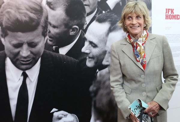 The late Jean Kennedy Smith, visiting the JFK Homecoming in Ireland.