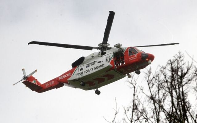 The Irish Coast Guard responded to the tragic fishing accident.