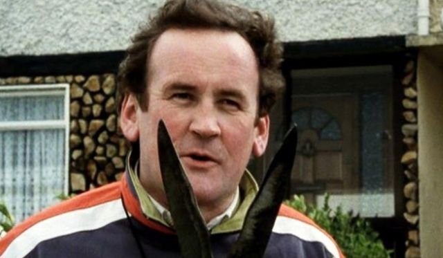 """Colm Meaney in the Snapper! \""""Snip, snip!\"""""""