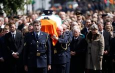 State Funeral of murdered Garda Colm Horkan takes place