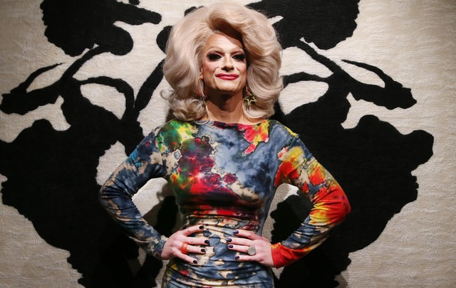 Panti Bliss, photographed at Farmleigh House, in the Phoenix Park.