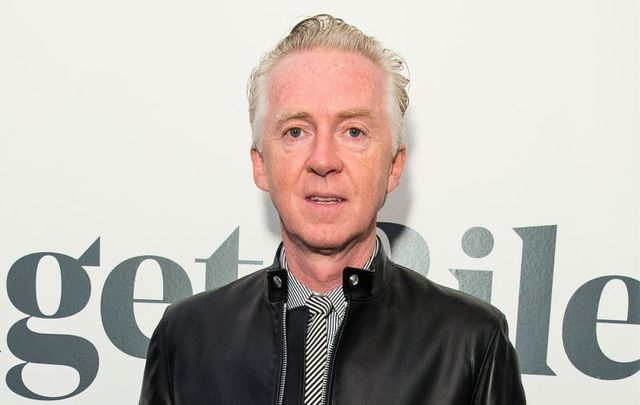 Philip Treacy attends the Bridget Riley Retrospecitve at The Hayward Gallery on October 22, 2019 in London, England.