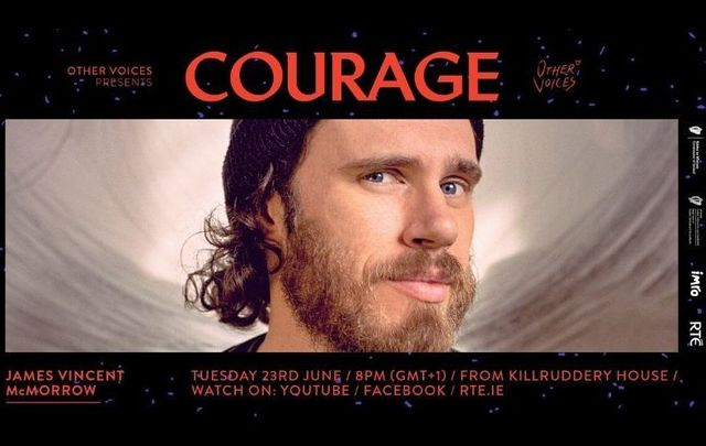 James Vincent McMorrow and Maija Sofia perform live on June 23 for the \'Courage\' series from Other Voices in Ireland - tune in here!