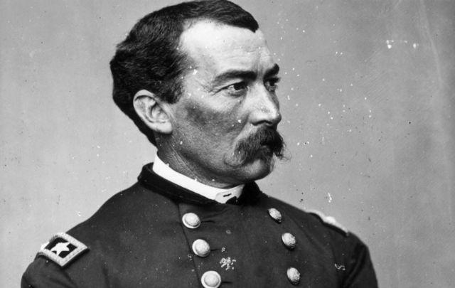General Philip Henry Sheridan, circa 1862.