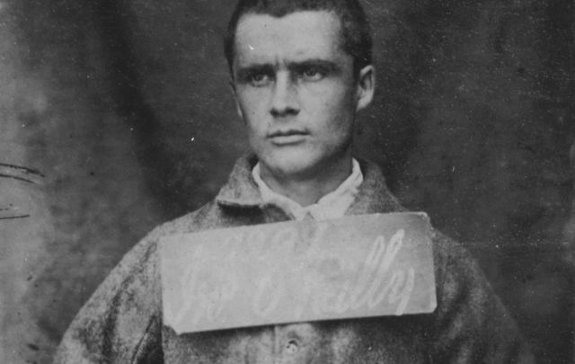 Prisoner John Boyle O\'Reilly photographed in 1866.