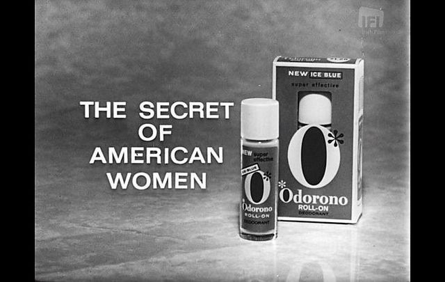 "An advertisement for the women\'s deodorant ""Odorono\"" is one of the dozens that have been digitized in the Irish Film Institute\'s \'Irish Adverts Project\' collection."
