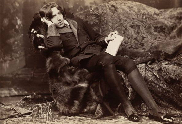 Irish literary legend Oscar Wilde.
