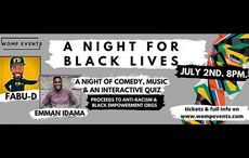 """LIVE NOW: """"A Night for Black Lives"""" - music, comedy, and a quiz live from Ireland"""