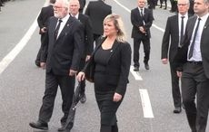 Sinn Féin's Michelle O'Neill defends attendance at west Belfast funeral