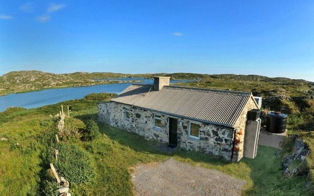 Carrie\'s Cottage boasts absolutely stunning views of Connemara.