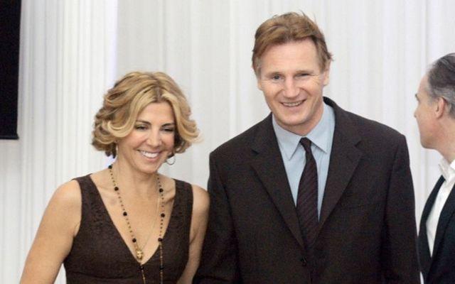 Natasha Richardson with Liam Neeson.
