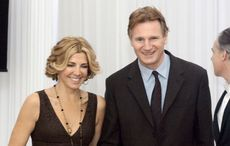 Who was Liam Neeson married to?