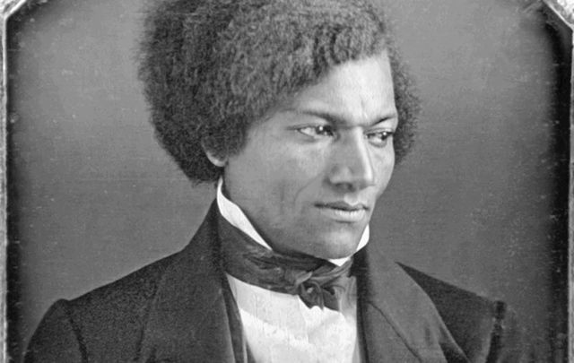 Douglass, pictured in the 1840s, visited Cork in 1845.