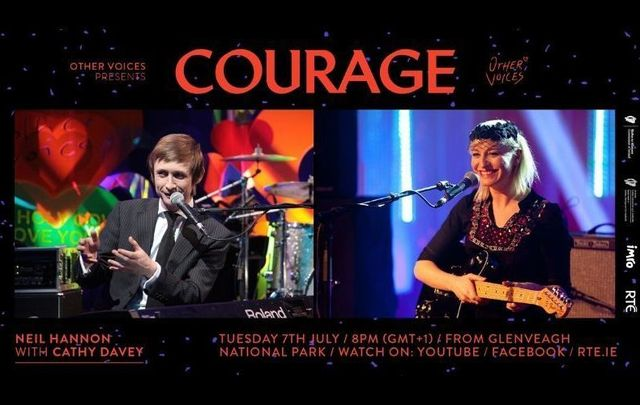 Neil Hannon and Cathy Davey will be joined by Eve Belle on Tuesday, July 7 for the \'Courage\' live stream series from Other Voices in Ireland.