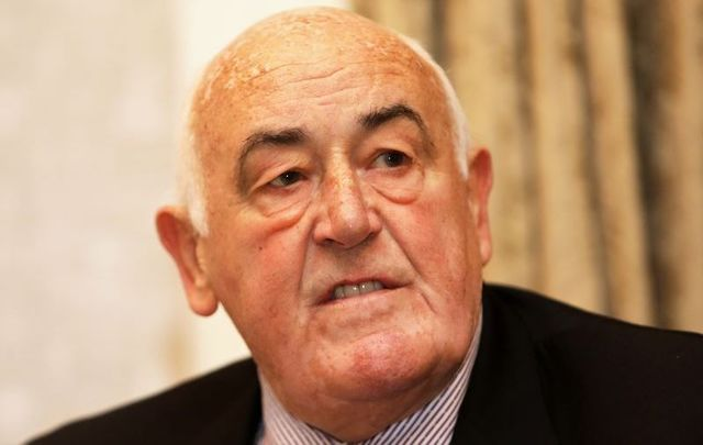 Billy Lawless, pictured here in June 2018, the outgoing Minister for the Diaspora.