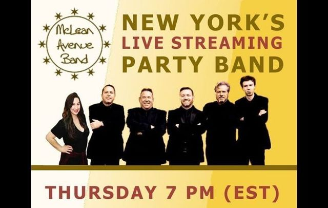McLean Avenue Band will be performing live on Thursday, July 9 - tune in here!