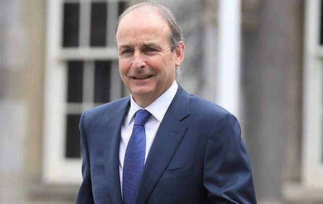 Ireland\'s new Taoiseach MicheálMartin pictured on July 6, 2020.