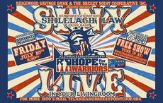 LIVE NOW: Shilelagh Law performing in support of Hope for the Warriors!