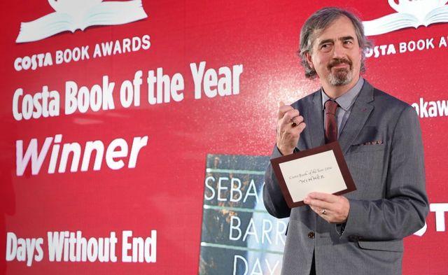 Irish author Sebastian Barry.