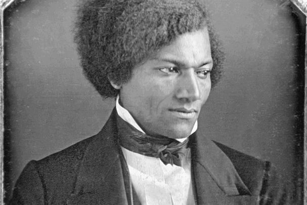 American abolitionist Frederick Douglass, pictured here in the 1840s.