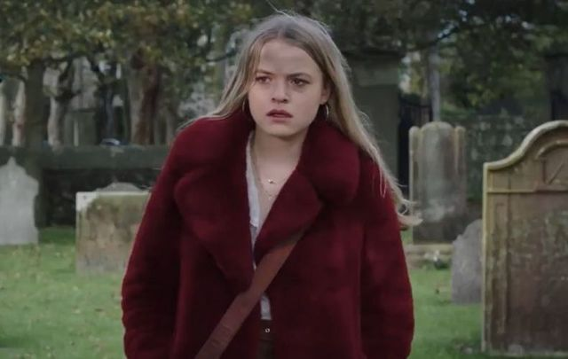 """Emily Reid as Ophelia in the new Channel 5 original drama \""""The Deceived.\"""""""