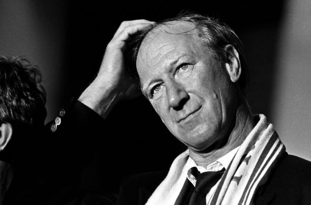Jack Charlton, the beloved former manager of the Republic of Ireland national football team.