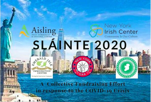 The Sláinte 2020 banner.