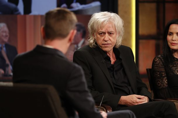 Bob Geldof\'s appearance on the RTE\'s Late Late Show recently.