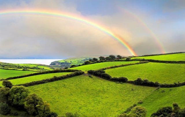 A rainbow over the Dingle Peninsula in Co Kerry. Where is your wanderlust drawing you towards in Ireland?