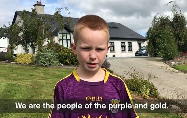 """Bobby Farrell in Michael Fortune\'s \""""We are Wexford\"""" video"""
