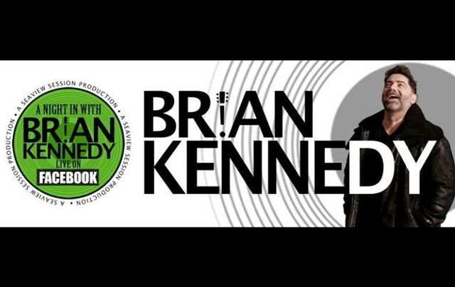 Brian Kennedy is performing his second live concert via Facebook on Saturday, July 18