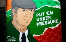 Touching mural unveiled in honor of Jack Charlton