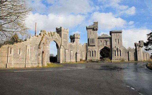 Duckett\'s Grove gate lodge in County Carlow is like something out of Game of Thrones