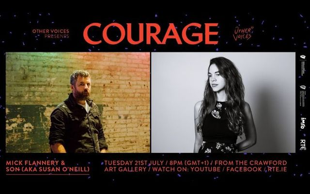 Mick Flannery and SON (aka Susan O\'Neill) perform live from Cork City on July 21 - tune in here!