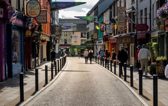 Killarney, Co Kerry in busier times.