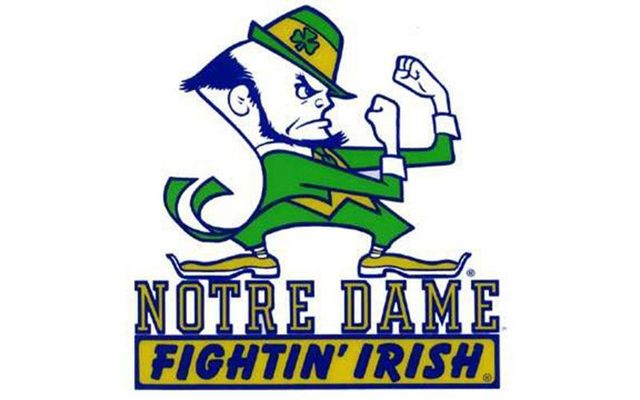 The Notre Dame Fighting Irish logo.