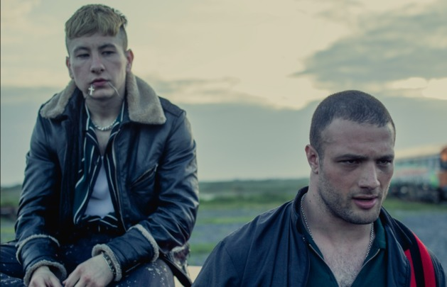 Barry Keoghan and Cosmo Jarvis in The Shadow of Violence.
