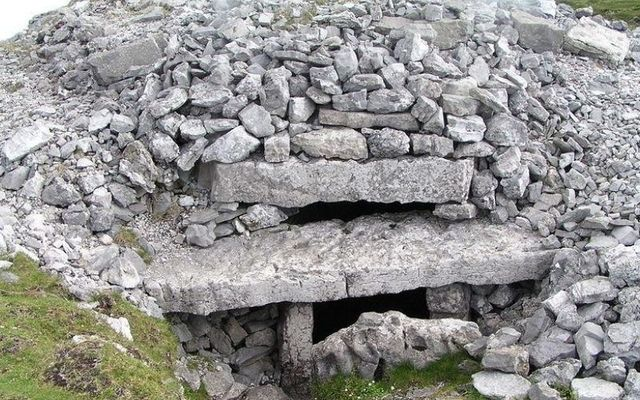 A Megalithic passage tomb in Carrowkeel is one of several that has been damaged in recent weeks.