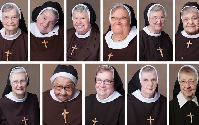 The 13 sisters of the Felician Sisters of North America who died in Michigan, 12 of them within one month.